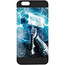 Iphone 6 Funda Case, Thor Hammer Marvel Dust Proof Slim Ultra Thin for Iphone 6 / 6s (4.7 inch)
