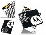 Original & Neu -Motorola BC-60 / BC60, Li-Ion (820 mAh) für Motorola SLVR L2 / L6 / L7 / L7i / L7c / RAZR V3x / C261 / C257