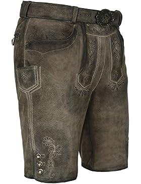 Michaelax-Fashion-Trade Spieth & Wensky - Herren Trachten Lederhose, Micha (009667-0247)