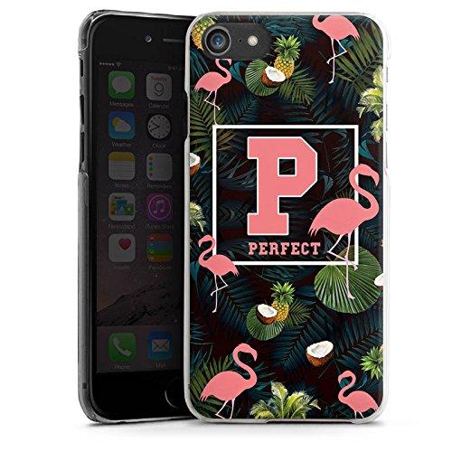 Apple iPhone X Silikon Hülle Case Schutzhülle Flamingos Perfekt dschungel Hard Case transparent