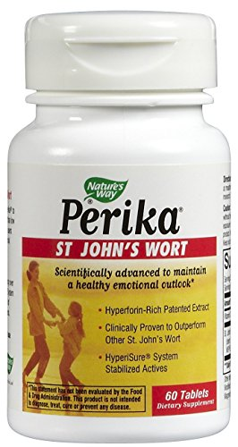 Nature's Way Perika St. John's Wort Tabs, 60 ct (Natures Wort Perika, St Johns Way)
