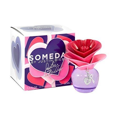 Someday by Justin Bieber Eau De Parfum Spray 1.7 oz for Women - 100% Authentic by Justin Bieber