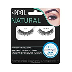 Ardell Natural Eyelashes - 131 Black (65006)