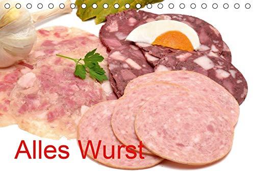 Alles Wurst (Tischkalender 2020 DIN A5 quer): Wurstwaren (Monatskalender, 14 Seiten ) (CALVENDO...
