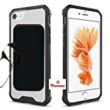 #8: iPhone 7 Plus Shockproof TPU & Black PC Cover + Reading Glasses 2.00 Strength Diopter Thin Glass Good Quality Optics by Premsons
