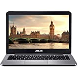 ASUS VivoBook E403NA-US04 Thin And Lightweight 14Ó FHD Laptop, Intel Celeron N3350 Processor, 4GB RAM, 64GB EMMC Storage, 802.11ac Wi-Fi, USB-C, Windows 10