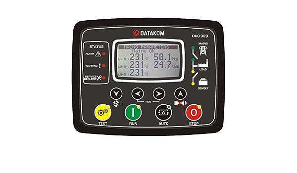DATAKOM DKG-329-2G Dual-Generator / Netz Automatische ...