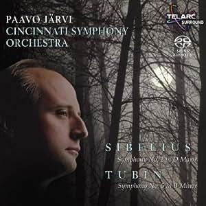 Sibelius - Symphony No 2; Tubin - Symphony No 5