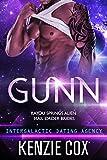 Gunn: Intergalactic Dating Agency (Bayou Springs Alien Mail Order Brides Book 2)