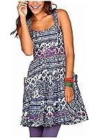 Joe Browns Damen-Kleid Kleid Mehrfarbig