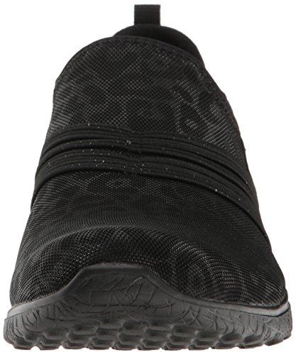 Skechers Micro Platzen Unter Verschluss Damen Sportschuhe Black
