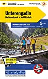 Unterengadin Wanderkarte Nr. 14: Nationalpark, Val Müstair, 1:60 000, waterproof, Free Map on Smartphone included (Kümmerly+Frey Wanderkarten)