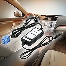 KKmoon Cable Adaptador de Audio 3,5mm Aux In Radio MP3 Reproductor para Honda Accura Accord Civic