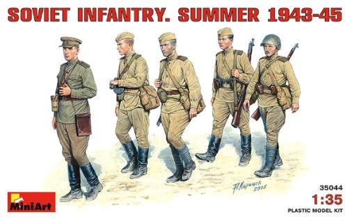 MiniArt 35044  - Infantería soviética de Verano 1943-1945