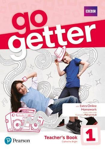 GoGetter 1 Teacher's Book with MyEnglish Lab & Online Extra Home Work + DVD-ROM Pack