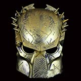 Wolf Bio Predator Schutzhelm Maske für Softair Paintball Cosplay (gold)