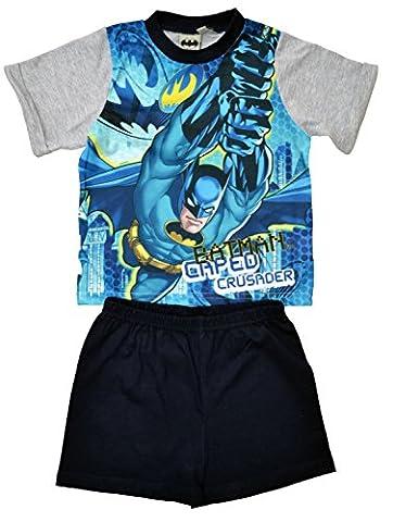 Boys Batman Short Pyjamas Size 5-6 Years
