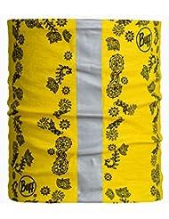 Buff - Braga multiusos para perro (tamaño pequeño, con detalle reflectante), color amarillo