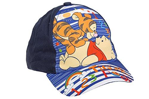 Winnie Pooh Puuh der Bär Baseball Cap für Babys, dunkelblau, Art. 7793, Gr. 48
