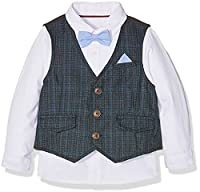 Mothercare Boy's Shirt Waistcoat and Bow Tie Set Shirt, Multicoloured (Brights Multi), 2-3 Years (Manufacturer Size:98)