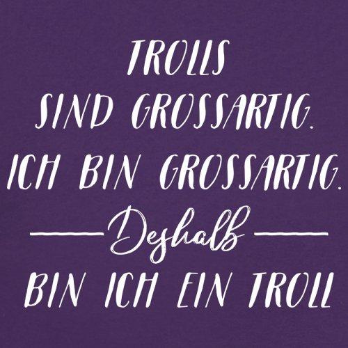 Ich Bin Grossartig - Trolls - Damen T-Shirt - 14 Farben Lila