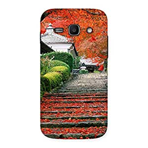 Stairs Garden Multicolor Back Case Cover for Galaxy Ace 3