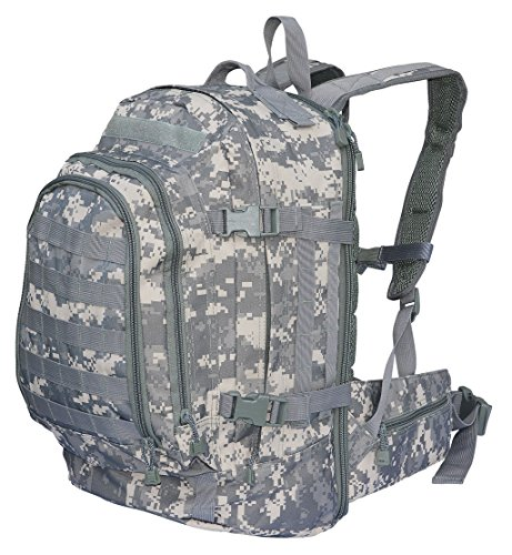 US Army Assault Pack Rucksack Kampftasche Packtasche ACU AT Digital Camo Tarn 2 -