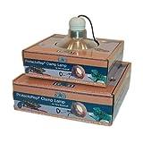 Namiba Terra 1783Protect orep Clamp Lamp, Riflettore e Alimentazione PRO TECTOR, Alluminio Riflettore 21cm, Versione in Ceramica, Cavo di Alimentazione