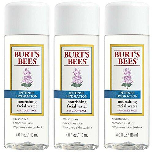 Burts Bees hydratation intense nourrissant de l'eau sur le visage avec Clary Sage - 120 ml / chacun - Pack de 3