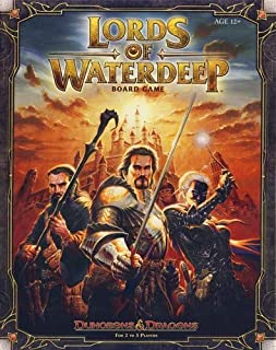 Wizards Of The Coast 388510000 - Lords of Waterdeep, Brettspiel (0786959916)   Amazon Products
