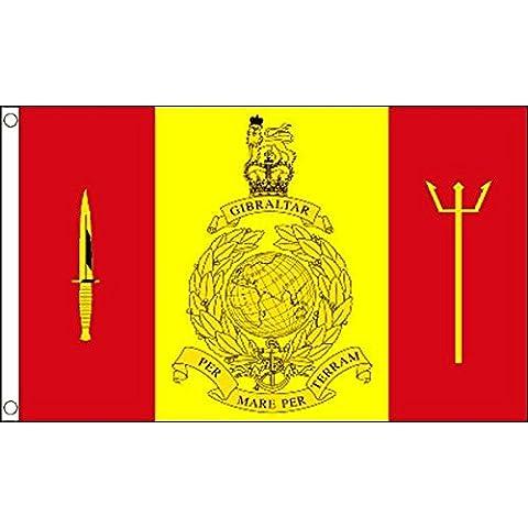 DRAPEAU FLEET PROTECTION GROUP ROYAL MARINES DU ROYAUME-UNI 150x90cm - DRAPEAU BRITISH ARMY 90 x 150 cm - DRAPEAUX - AZ FLAG