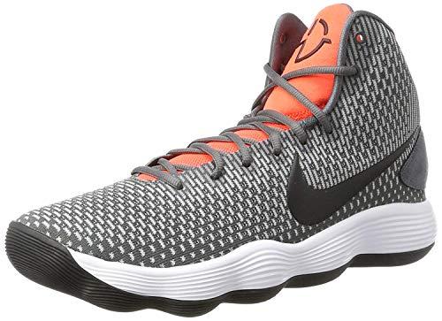 Nike Herren Hyperdunk 2017 Basketballschuhe, Mehrfarbig (Dark Grey/Black/Bright Crimson), 43 EU