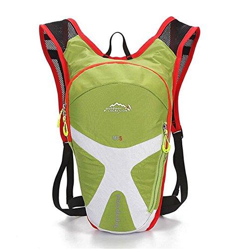 Wmshpeds Outdoor bici borsa a tracolla moda femminile luce mountain bike maschio zaino alpinismo arrampicata su roccia forniture B