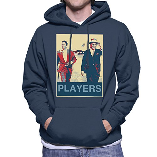Dean Martin Frank Sinatra Heathrow Airport 1961 Poster Style Men's Hooded Sweatshirt
