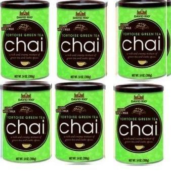 Chai Tee green Tortoise David Rio, 6 Dosen 398 g im Karton