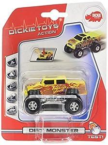 Simba 3341002 vehículo de Juguete - vehículos de Juguete (Multi, De plástico, Niño, Batería, Ampolla)