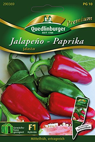 Paprika Jalastar von Quedlinburger Saatgut [MHD 01/2019]