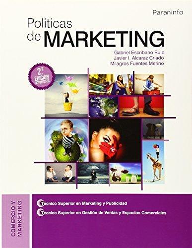 Descargar Libro Políticas de marketing de JAVIER IGNACIO ALCARAZ CRIADO