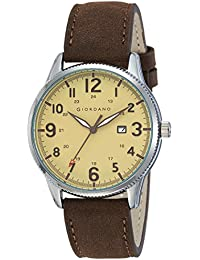Giordano Analog Gold Dial Men's Watch-A1048-02