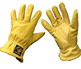 Parweld Panther Premium Leather Drivers Glove - Fully Lined Tough Work Gloves