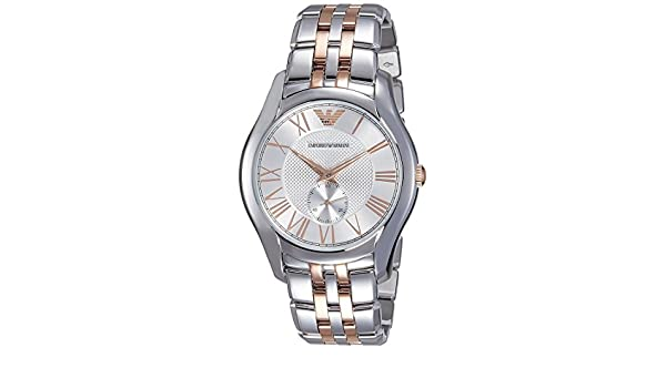 7fff79376681 Buy Emporio Armani Analog Silver Dial Men s Watch - AR1824 Online at Low  Prices in India - Amazon.in