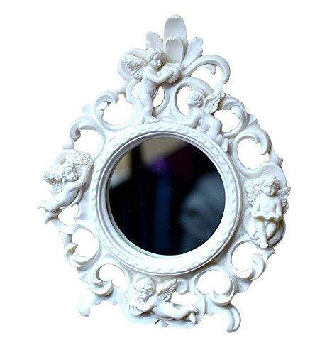 L'Esprit des Anges Petit Miroir Décoré d'anges