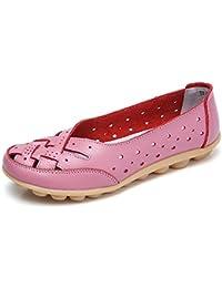 5c82e6cbc907 Amazon.es  Rosa - Mocasines   Zapatos para mujer  Zapatos y complementos