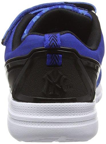 New York Yankees Baphomet, Baskets Basses Garçon Bleu (Classic Blue/Black 416)