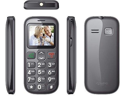 TELEFONO MOVIL CON TECLAS GRANDES BOTON SOS LIBRE DUAL SIM PARA PERSONAS MAYORES EN PROMOCION