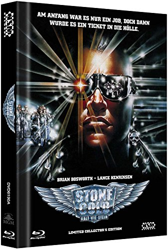 Stone Cold - Kalt wie Stein inkl Bonus DVD Stone Cold 2 - uncut (Blu-Ray+ 2DVD) auf 999 limitiertes Mediabook Cover A [Limited