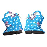 CUTICATE 1 Paar Puppenschuhe PU Stiefel Schuhe mit Reißverschluss für 14,5 Zoll Mädchen Puppe -...