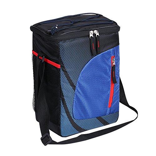 Decdeal 11L Thermotasche Kühltasche Isoliertasche Umhängetasche für Picknick,Lunchbox,Baby Milchflaschen,Obst