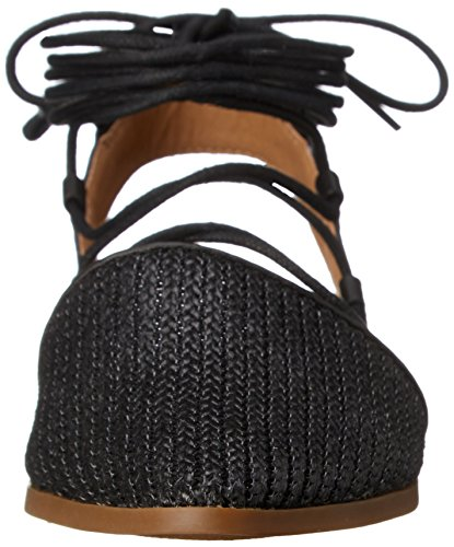 Lucky Brand Mackneill Femmes Toile Chaussure Plate Black
