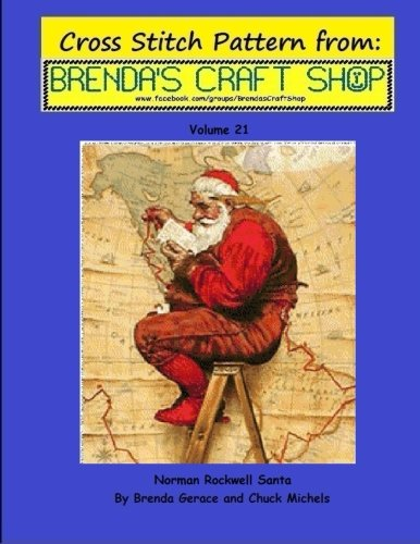 a - Cross Stitch Pattern: Cross Stitch Pattern from Brenda's Craft Shop - Volume 21 (Cross Stitch Patterns from Brenda's Craft Shop, Band 21) ()